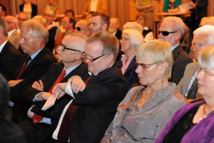 Publikum beim Hörspielpreis der Kriegsblinden 2013. Foto: Anna Kaduk, Filmstiftung NRW