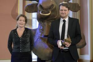 Cilla Benkö, Daniel Velasco. Foto: Prix Europa.