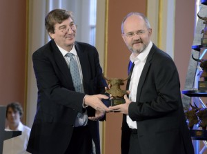 Friedrich Spangemacher, Thomas Fitzel. Foto: Prix Europa.