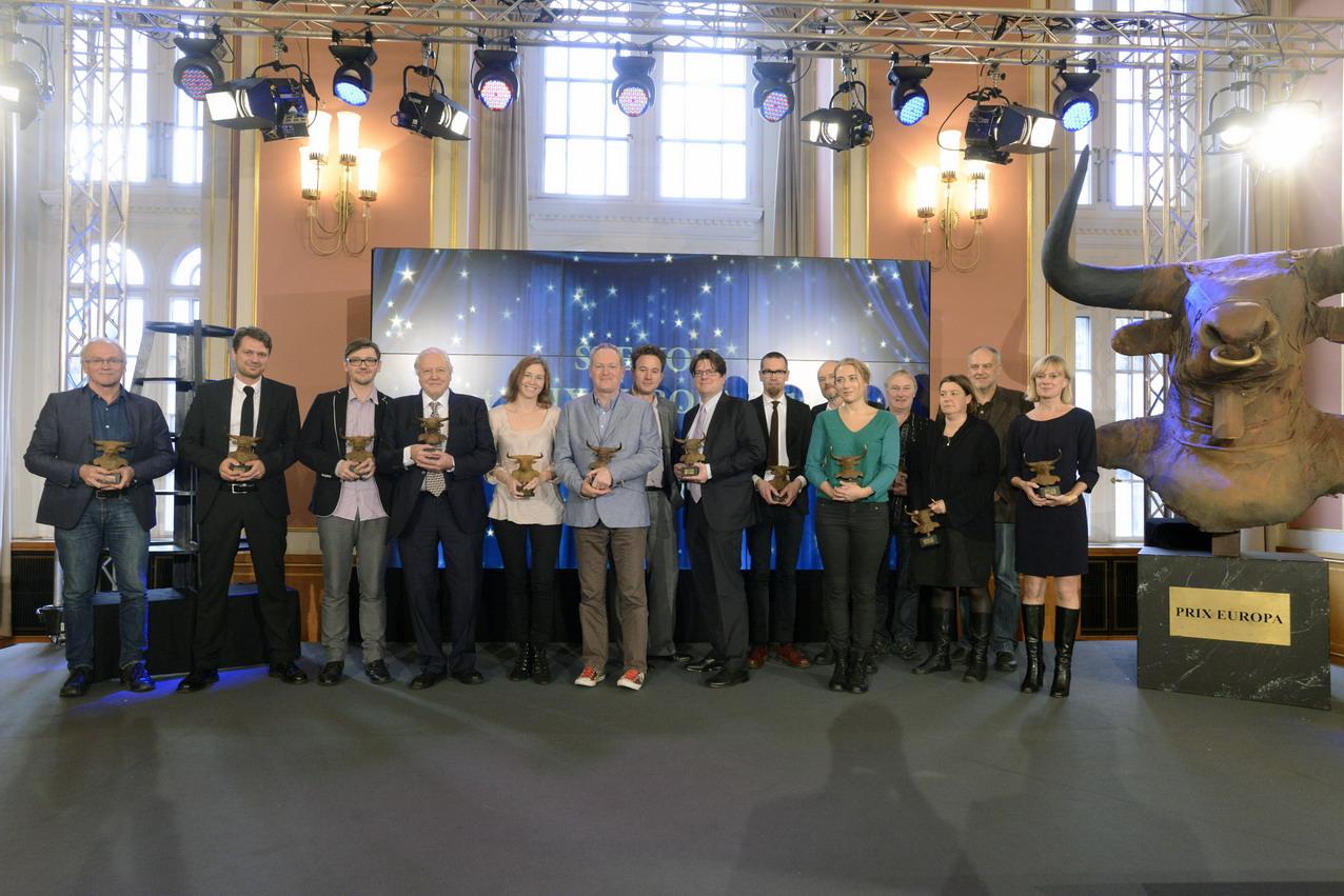 Die Gewinner der Prix Europa 2013. Foto: Prix Europa.