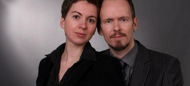 Mareike Maage, Dietmar Dath. Foto: Inhoffen e.K. - Freiburg im Breisgau.