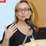 Prof. Dr. Jutta Liebau beim 19. Hörspielforum NRW. Foto: Hörspielforum NRW.