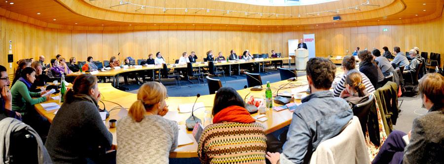 """Der """"Nato""""-Saal des WDR. Foto: HF/NWR"""