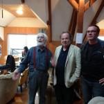 Götz Fritsch, Peter Kaizar, Robert Woelfl. Foto: Robert Schoen
