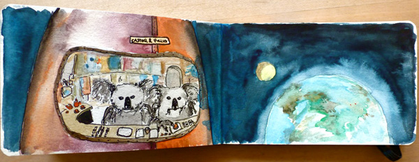Stephan Krass / Ulrike Haage: The Moon Tapes