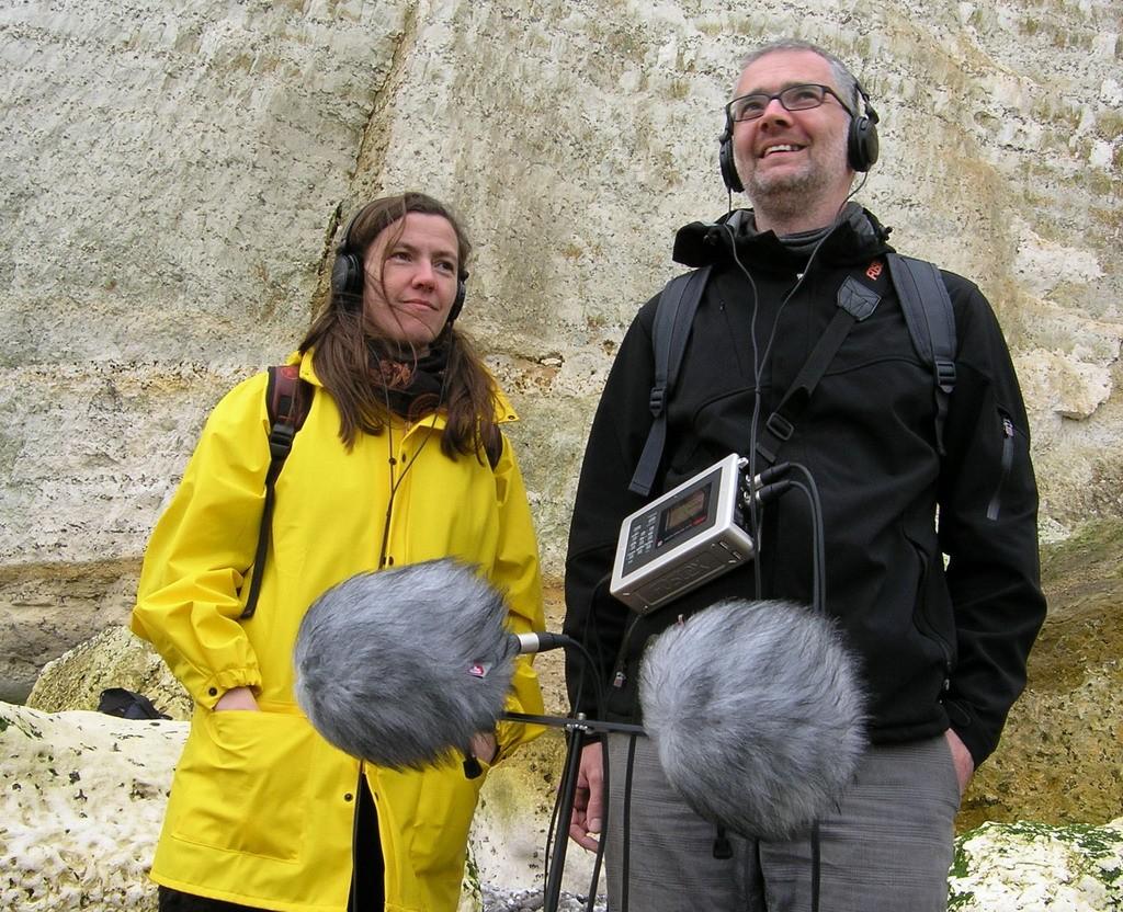 Liquid Penguin Ensemble (Katharina Bihler, Stefan Scheib). Foto: Pierre Metzinger (SR)