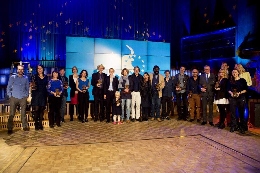 PrixEuropa2015 Die Gewinner. Bild: Prix Europa.