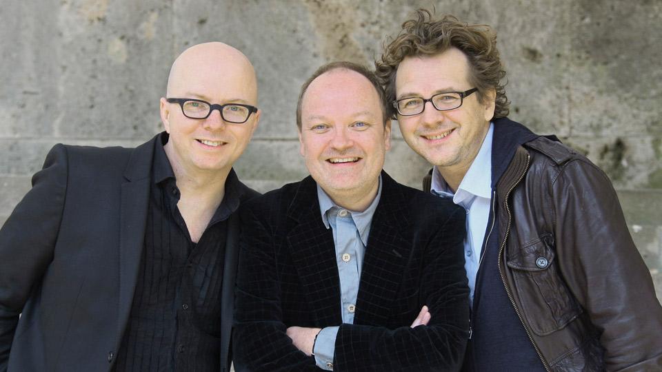 Oliver Rohrbeck, Jens Wawrczeck, Andreas Fröhlich. Bild: WDR/IMAGO.