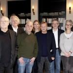 Nathalie Singer (Jury), Walter Adler (Regisseur), Hermann Beil (Jury), Lothar Trolle Autor), Andreas Oetzmann (SWR), Oliver Bukowski (Jury), Ekkehard Skoruppa (SWR), Daniela Ginten (DAddK), Pierre Oser (Komponist), Christoph Buggert (DAddK). Bild: DAddK/ Alexandra Lechner.