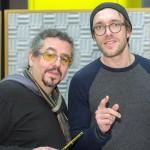 Regisseur Leonhard Koppelmann und Schauspieler Oliver Pellner. Bild: SWR/Peter A. Schmidt.