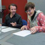 David Bennent und Ulrike Haage. Bild: NDR.