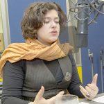 Nora Gomringer. Bild: NDR/Cordula Kropke.