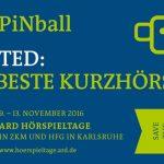 Ausschreibung ARD PiNball 2016