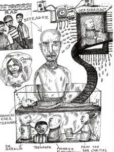 Zeichnung: Frank Witzel.