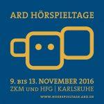13. ARD Hörspieltage 2016 - Die Preise