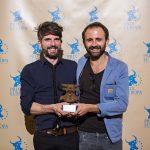 Prix Europa 2016 Winner Radio Fiction Series Florent Barat and Sebastien Schmitz. Photo: David von Becker