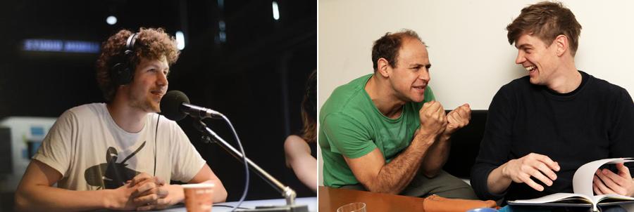 1. Bild: Lucas Derycke; 2. Bild: Moritz Führmann und Andreas Helgi Schmid © WDR/Sibylle Anneck