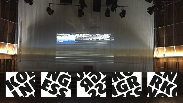 Lichtproben für die Hörspielperformance In darkness let me dwell. Bild: DLF/Barbara Schäfer.