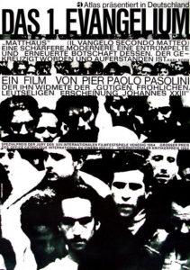 Filmplakat: Das erste Evangelium Matthäus (Hans Hillmann 1965)