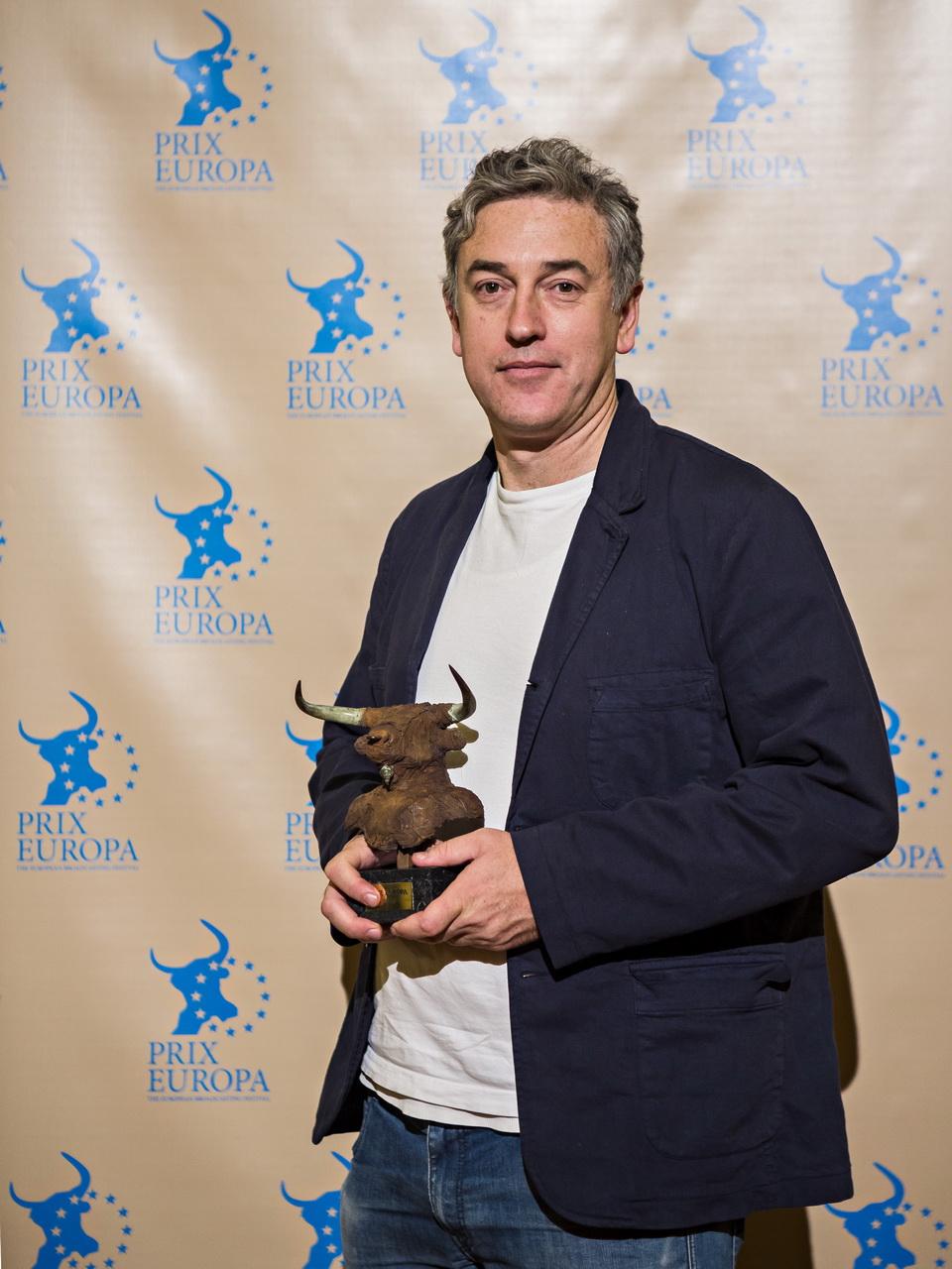 Prix Europa 2016 Winner Digital Audio Tim Hinman. Photo: David von Becker