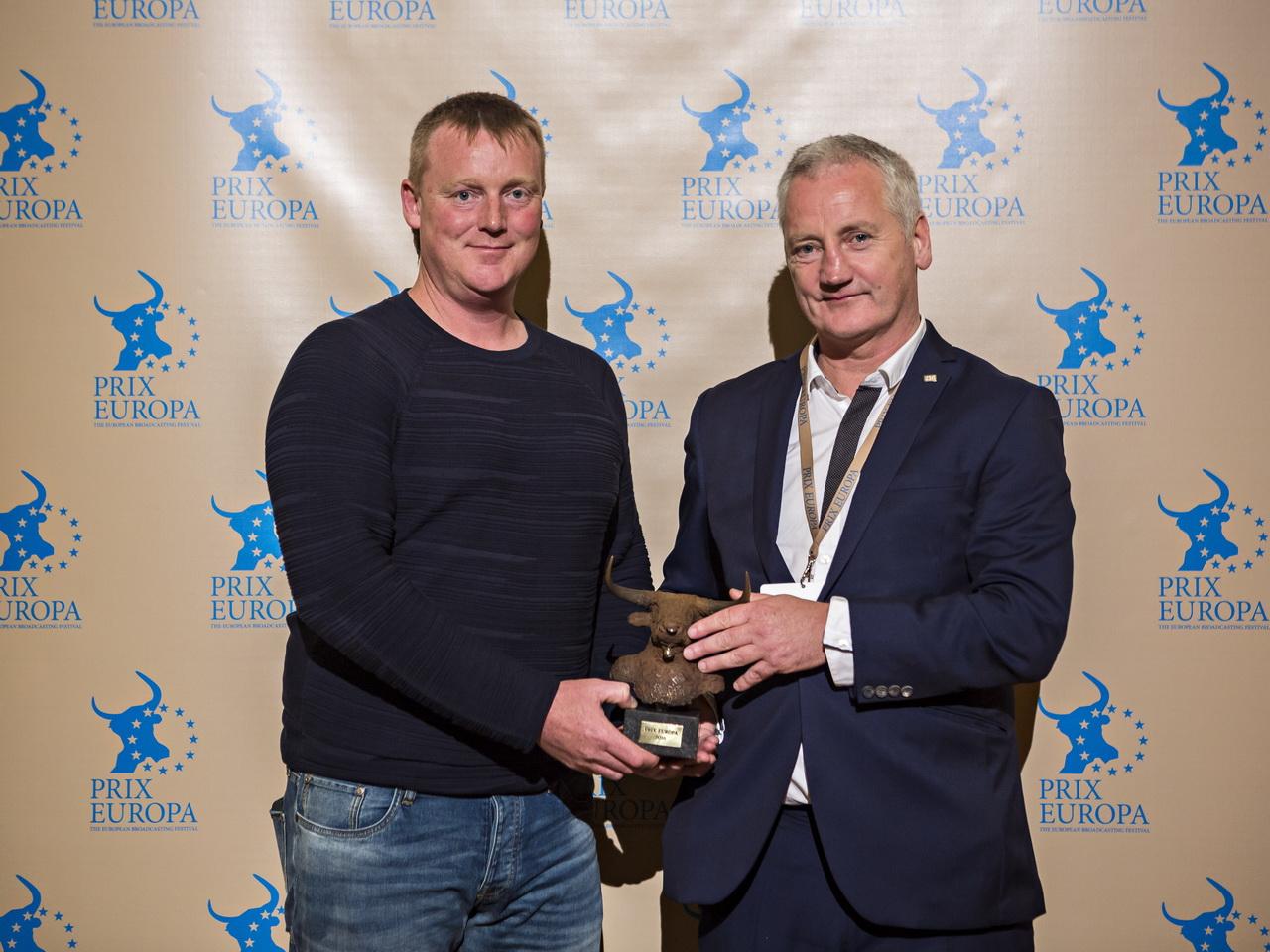 Prix Europa 2016 Winner Radio Investigation Frank Shouldice and Liam O´Brian.