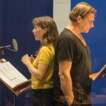 Kathrin von Steinburg als Annett Wyss und Martin Feifel in der Rolle des Griese. Bild: BR/Stefanie Ramb.