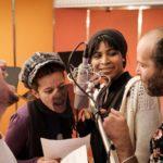 Sheik Khamiis, Christina Meyer (Sandra), Doris Schmeer,Tomer Gardi. Bild: Fahri Sahin Sarimese/WDR.