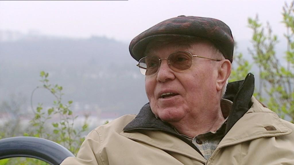 Ludwig Harig. Bild: SR-Fernsehen.