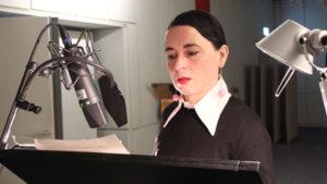 Susanne Sachsse als Vasháti. Bild: NDR, Nadine Gräser.