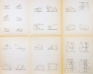 Paul Scheerbart: Entwurf eines Perpetuum mobile.
