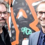 Wolfgang Seesko, Jan Georg Schütte. Bild: Radio Bremen / Andreas Weiss.