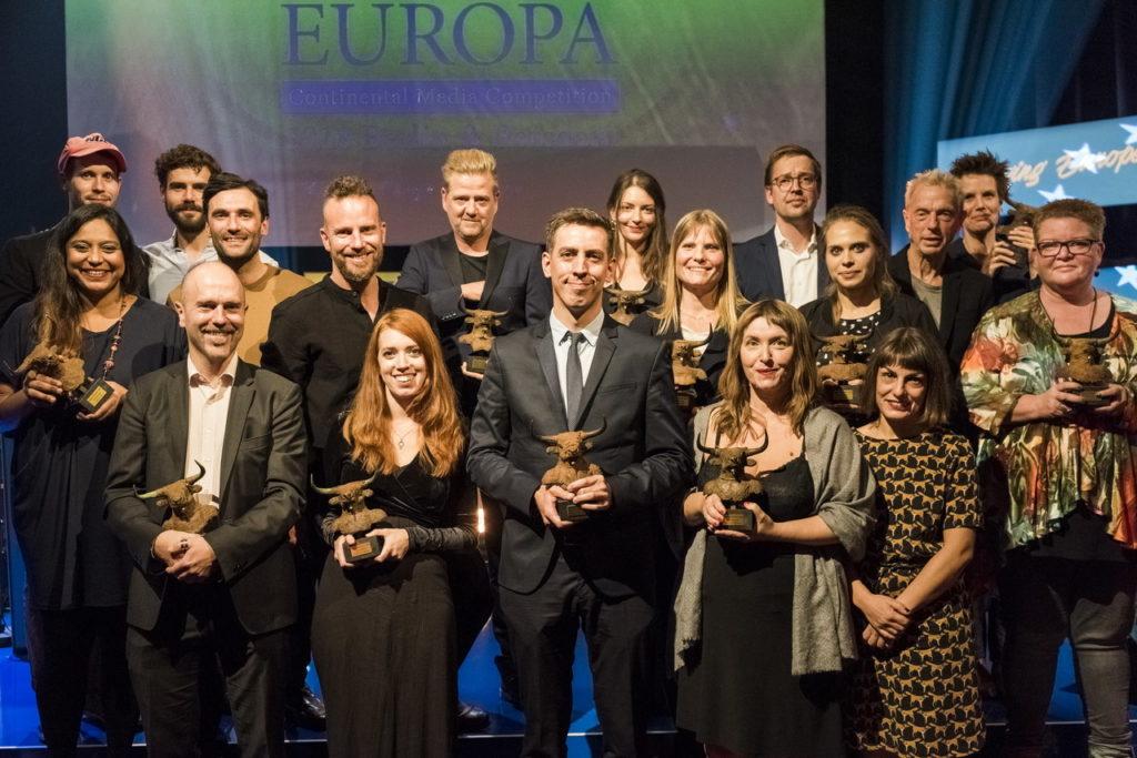 Prix Europa Preisverleihung 2018. Foto: Oliver Wolff