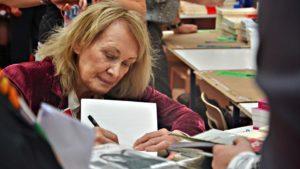 Annie Ernaux à la 30e Foire du livre de Brive-la-Gaillarde 2011 Bild: Babsy. CC BY-SA 3.0