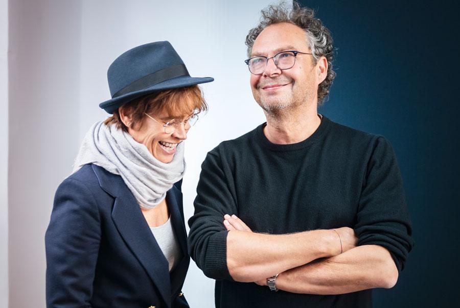 Ulrike Haage und Andreas Ammer. Bild: NDR.