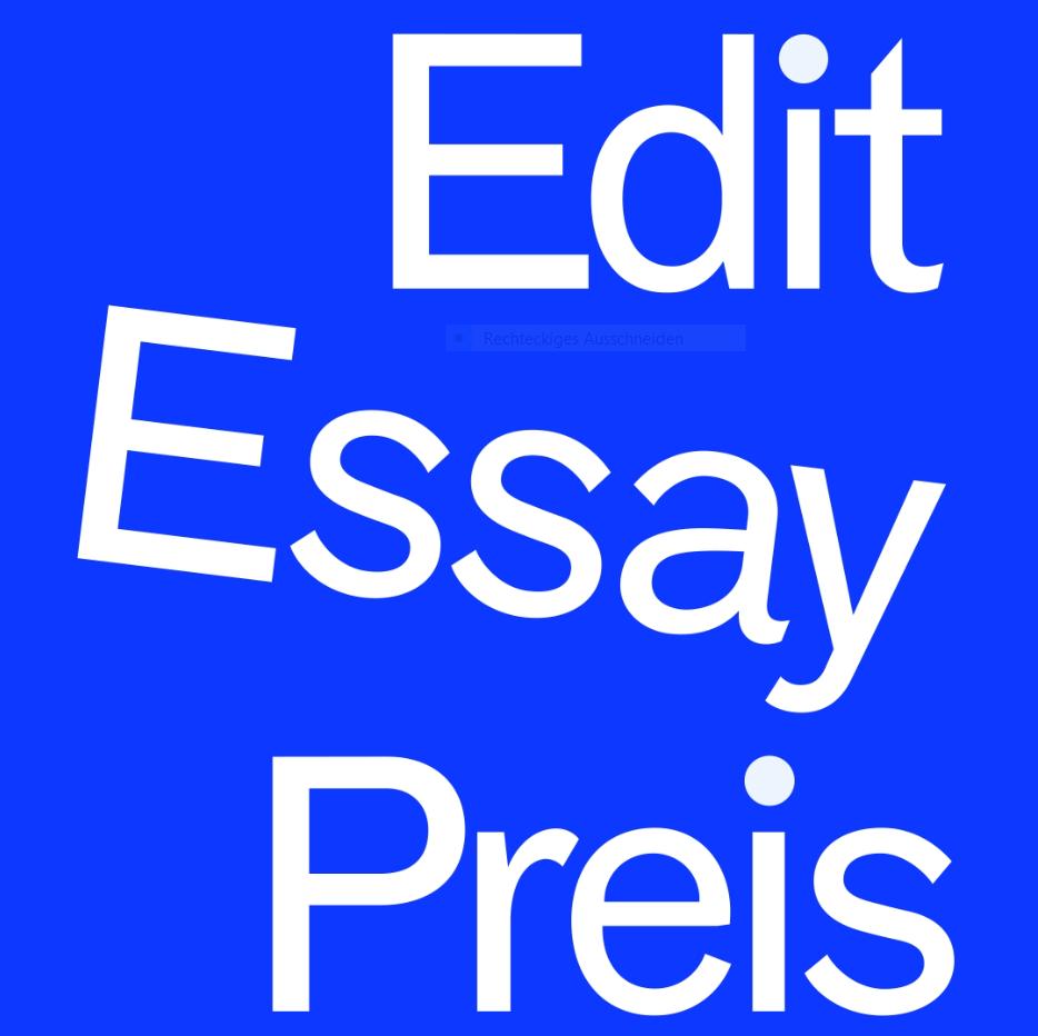 Edit Essaypreis 2019