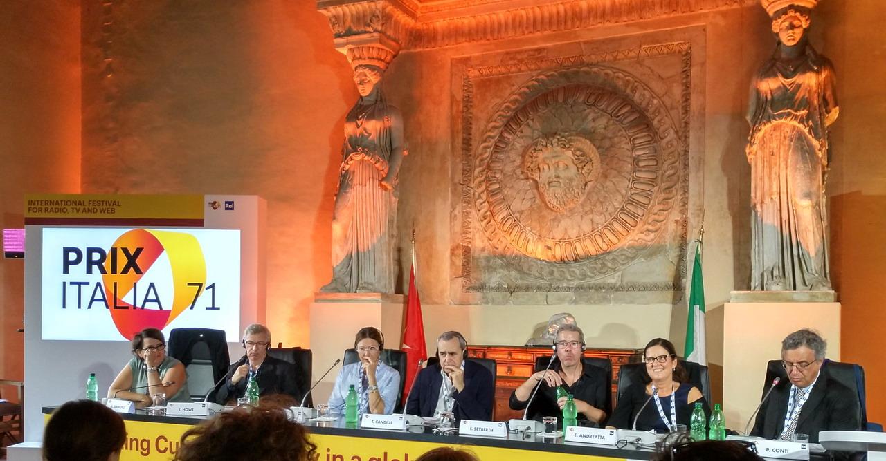 "71. Prix Italia 2019 ""On the Crime Scene. The European Way to Crime Drama"""