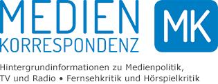 Medienkorrespondenz Logo blau