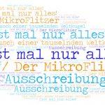 BHF2020 MikroFlitzer Ausschreibung