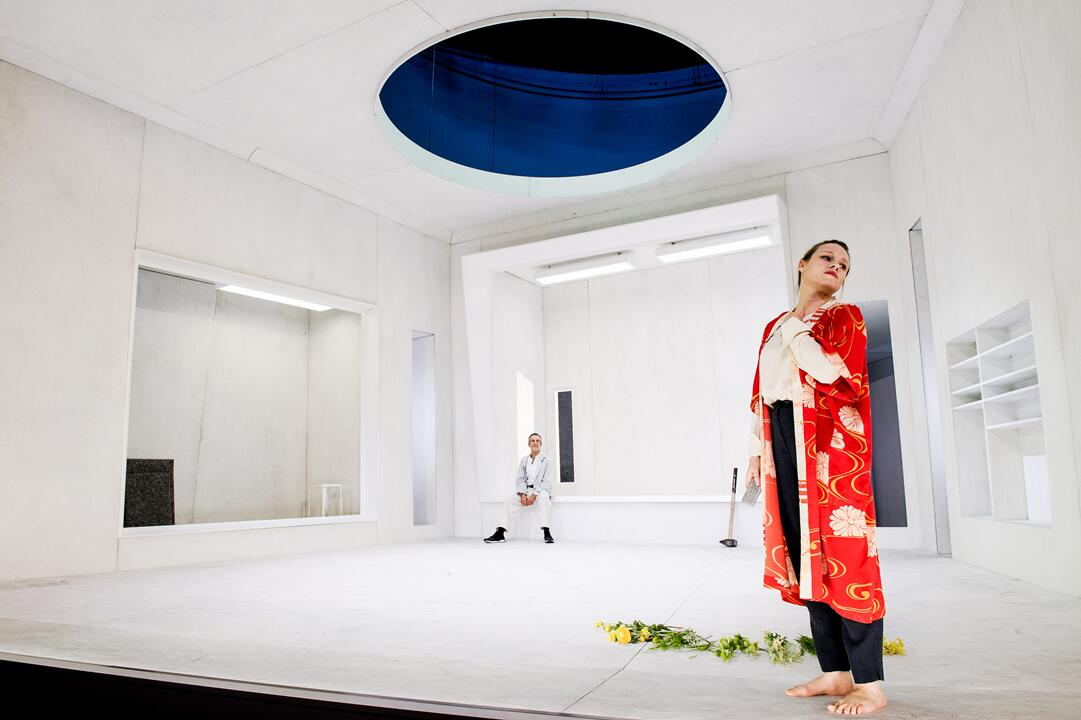 Moritz Rinke: Westend. Regie: Stephan Kimming, Deutsches Theater, Berlin. Bild: DT/Arno Declair.