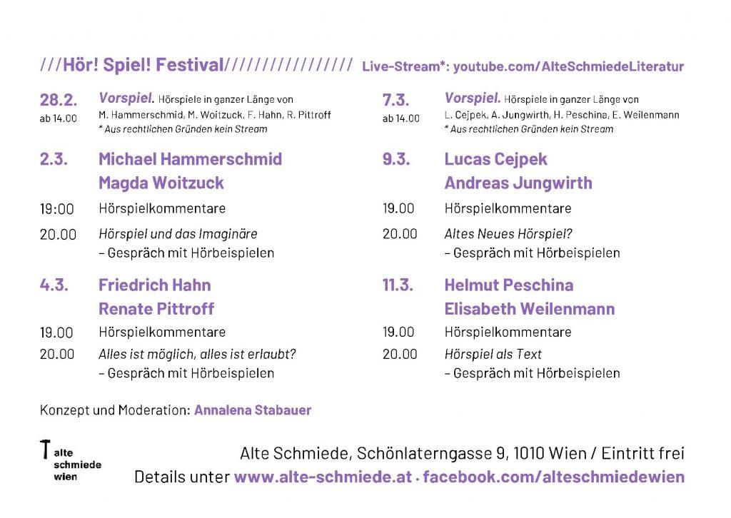 Hoer!SpielFestival 2021 Wien 2