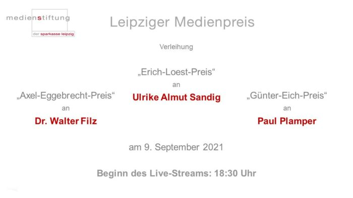 Leipziger Meidenpreis Livestream